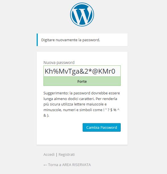 Comferma password